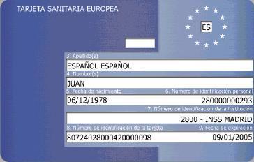 como obtener la tarjeta sanitaria europea
