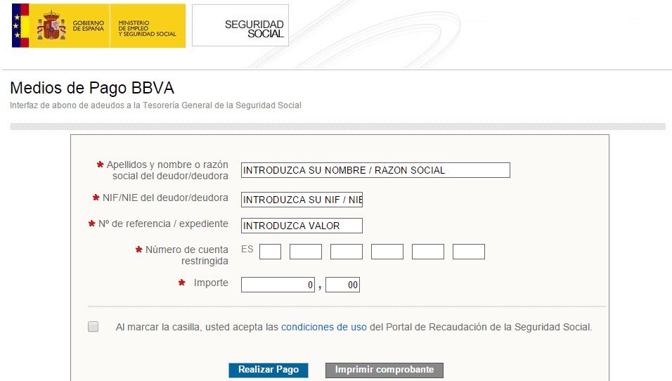 Pagos con tarjeta a la seguridad social - www.miasesorlaboral.es View ...