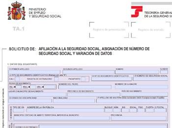 afiliacion a la seguridad social