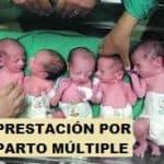 Prestación por parto o adopción múltiple