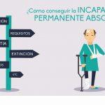 ¿Cómo conseguir la incapacidad permanente absoluta?